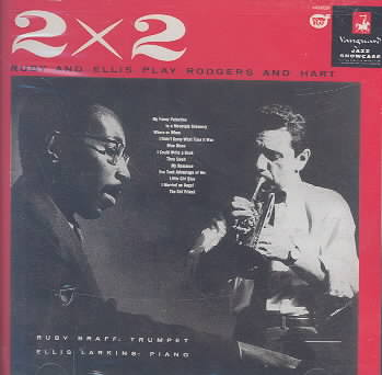 2 BY 2 RUBY & ELLIS PLAY RODGERS & HA BY BRAFF,R/ELIIS,H (CD)