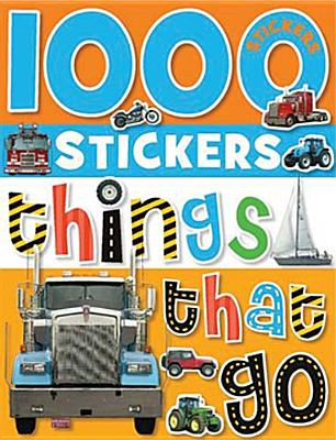 1000 Stickers Things That Go By Simpson, Annie